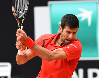 May 11, 2016 - Rome, Italy - Novak Djokovic in action during his match against Stephane Robert - Internazionali BNL d'Italia 2016 on May 11, 2016 in Rome, Italy. (Credit Image: © Silvia Lore/NurPhoto via ZUMA Press)  TENIS RZYM TURNIEJ TENISOWY FOT. ZUMA/NEWSPIX.PL  POLAND ONLY !! --- Newspix.pl *** Local Caption *** www.newspix.pl  mail us: info@newspix.pl call us: 0048 022 23 22 222 --- Polish Picture Agency by Ringier Axel Springer Poland