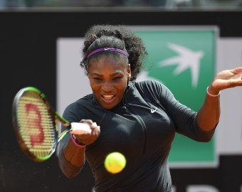 ROME, ITALY - MAY 12: Serena Williams of the United States in action during her match against Christina Mchale of the United States on Day Five of The Internazionali BNL d'Italia on May 12, 2016 in Rome, Italy. Claudio Pasquazi / Anadolu Agency  RZYM TENIS FOT. ABACA/NEWSPIX.PL  POLAND ONLY !!! --- Newspix.pl *** Local Caption *** www.newspix.pl  mail us: info@newspix.pl call us: 0048 022 23 22 222 --- Polish Picture Agency by Ringier Axel Springer Poland