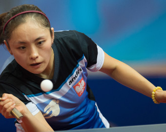 WARSZAWA 24.10.2015 ARENA UESYNOW TENIS STOLOWY   2015 ITTF WORLD TOUR POLISH OPEN TURNIEJ GLOWNY NZ  LI QUIAN FOT MAREK BICZYK NEWSPIX.PL --- Newspix.pl *** Local Caption *** www.newspix.pl  mail us: info@newspix.pl call us: 0048 022 23 22 222 --- Polish Picture Agency by Ringier Axel Springer Poland