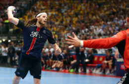 KOELN , HALA LANXESS ARENA   29.05.2016  SPORT PILKA RECZNA HANDBALL  VELUX LIGA MISTRZOW TURNIEJ FINAL FOUR MECZ ZO 3 MIEJSCE  THW KIEL - PARIS SAINT GERMAIN HANDBALL  NZ MIKKEL HANSEN ( PSG )  FOT MICHAL NOWAK / NEWSPIX.PL   COLOGNE , LANXESS ARENA  29.05.2016  HANDBALL MEN'S  VELUX EHF CHAMPIONS LEAGUE FINAL FOUR 3RD PLACE GAME  THW KIEL - PSG HANDBALL  MICHAL NOWAK / NEWSPIX.PL  --- Newspix.pl *** Local Caption *** www.newspix.pl  mail us: info@newspix.pl call us: 0048 022 23 22 222 --- Polish Picture Agency by Ringier Axel Springer Poland