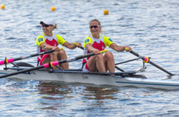 16.06.2016 POZNAN TOR REGATOWY MALTA PUCHAR SWIATA W WIOSLARSTWIE, WORLD ROWING CUP POZNAN 2016  NZ (L)  MAGDALENA FULARCZYK  , (P)  NATALIA MADEJ   FOTO JAKUB PIASECKI / CYFRASPORT / NEWSPIX.PL --- Newspix.pl *** Local Caption *** www.newspix.pl  mail us: info@newspix.pl call us: 0048 022 23 22 222 --- Polish Picture Agency by Ringier Axel Springer Poland