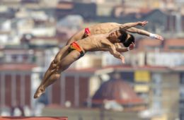 21.07.2013, Barcelona, plywanie, skoki do wody, Mistrzostwa swiata,Yuan Cao, Yanquan Zhang (CHN), fot. Rogan Thomson / Action Plus / Foto Olimpik/NEWSPIX.PL   Poland Only !!! --- Newspix.pl *** Local Caption *** www.newspix.pl  mail us: info@newspix.pl call us: 0048 022 23 22 222 --- Polish Picture Agency by Ringier Axel Springer Poland