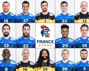 Francja (źródło Twitter@ffhandball)