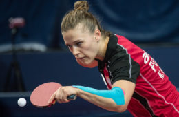 WARSZAWA 22.04.2016 TENIS STOLOWY MIEDZYNARODOWY TURNIEJ POLISH OPEN ITTF WORLD TOUR POLISH OPEN 2016 NZ NATALIA PARTYKA FOT MAREK BICZYK / newspix.pl --- Newspix.pl *** Local Caption *** www.newspix.pl  mail us: info@newspix.pl call us: 0048 022 23 22 222 --- Polish Picture Agency by Ringier Axel Springer Poland