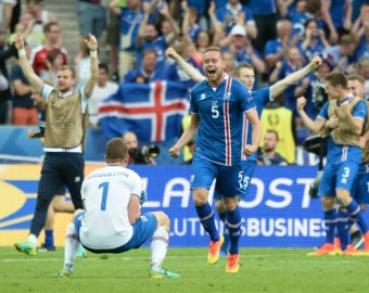 Sverrir Ingason of Iceland during the UEFA EURO 2016 Group F match between Iceland and Austria at Stade de France on June 22, 2016 in Paris, France. (Photo by Nolwenn Le Gouic/Icon Sport)  PILKA NOZNA MISTRZOSTWA EUROPY W PILCE NOZNEJ AUSTRIA - ISLANDIA FOT. ICON SPORT/NEWSPIX.PL POLAND ONLY! --- Newspix.pl *** Local Caption *** www.newspix.pl  mail us: info@newspix.pl call us: 0048 022 23 22 222 --- Polish Picture Agency by Ringier Axel Springer Poland