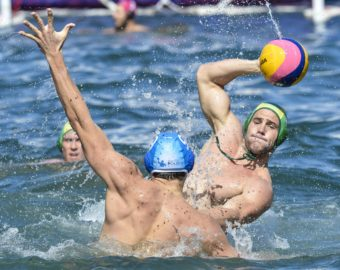 19.12.2015.  Sydney, Australia.  Water Polo Series By The Sea. International Test Series Australia versus Italy. Game 2 at Campbell's Cove. Italy won 14-10.  *****   2015.12.19,  Australia - Wlochy (Water Polo By the Sea )   fot.  Nigel Owen / Offside / Foto Olimpik/NEWSPIX.PL/ POLAND ONLY !!! --- Newspix.pl *** Local Caption *** www.newspix.pl  mail us: info@newspix.pl call us: 0048 022 23 22 222 --- Polish Picture Agency by Ringier Axel Springer Poland