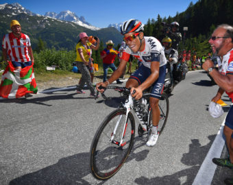 July 20, 2016 - Finhaut-Emosson, SWITZERLAND - Colombian Jarlinson Pantano of IAM Cycling pictured in action during the seventeenth stage at the 103rd edition of the Tour de France cycling race, 184,5 km from Bern to Finhaut-Emosson, Switzerland, on Wednesday 20 July 2016. This year's Tour de France takes place from July 2nd to July 24th. BELGA PHOTO DAVID STOCKMAN (Credit Image:  David Stockman/Belga via ZUMA Press)  FOT. ZUMAPRESS.com / NEWSPIX.PL  POLAND ONLY !!! --- Newspix.pl *** Local Caption *** www.newspix.pl  mail us: info@newspix.pl call us: 0048 022 23 22 222 --- Polish Picture Agency by Ringier Axel Springer Poland