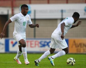 Kelechi Iheanacho of Nigeria during an International Friendly match between Nigeria and Mali on May 27, 2016 in Rouen, France. ( Photo by Andre Ferreira / Icon Sport )  MECZ TOWARZYSKI SEZON 2015/2016 PILKA NOZNA FOT. ICON SPORT/NEWSPIX.PL  POLAND ONLY !!! --- Newspix.pl *** Local Caption *** www.newspix.pl  mail us: info@newspix.pl call us: 0048 022 23 22 222 --- Polish Picture Agency by Ringier Axel Springer Poland