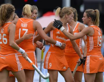 Aug. 17, 2013 - Boom, BELGIUM - 20130817 - BOOM, BELGIUM: Dutch players celebrate after scoring during the match of The Netherlands against Ireland in the Women Pool A at the European Hockey Championships 2013, Saturday 17 August 2013, at the Braxgata hockey club in Boom. BELGA PHOTO DIRK WAEM (Credit Image: © Dirk Waem/Belga/ZUMAPRESS.com)  BELGIA HOKEJ NA TRAWIE MISTRZOSTWA EUROPY W HOKEJU NA TRAWIE KOBIET KOBIETY HOLANDIA vs IRLANDIA FOT. ZUMA/NEWSPIX.PL  POLAND ONLY !!! --- Newspix.pl *** Local Caption *** www.newspix.pl  mail us: info@newspix.pl call us: 0048 022 23 22 222 --- Polish Picture Agency by Ringier Axel Springer Poland