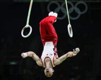 RIO DE JANEIRO, Aug. 6, 2016  Uchimura Kohei of Japan takes part in the competition of qualification of Artistic Gymnastics in Rio de Janeiro, Brazil, on Aug. 6, 2016.  dh) (Credit Image: © Zheng Huansong/Xinhua via ZUMA Wire)  OLIMPIADA IGRZYSKA OLIMPIJSKIE FOT. ZUMA/NEWSPIX.PL POLAND ONLY! --- Newspix.pl *** Local Caption *** www.newspix.pl  mail us: info@newspix.pl call us: 0048 022 23 22 222 --- Polish Picture Agency by Ringier Axel Springer Poland