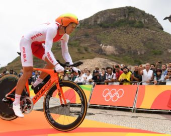 August 10, 2016 - Rio De Janeiro, Brazil - Maciej Bodnar of Poland at the start of the men's Individual Time Trial of the Rio 2016 Olympic Games Road Cycling events at Pontal in Rio de Janeiro, Brazil, 10 August 2016. Photo: Sebastian Kahnert/dpa (Credit Image:  Sebastian Kahnert/DPA via ZUMA Press) BRAZYLIA RIO 2016 OLIMPIADA IGRZYSKA OLIMPIJSKIE KOLARSTWO SZOSOWE JAZDA INDYWIDUALNA NA CZAS MEZCZYZN MEZCZYZNI FOT. ZUMA/NEWSPIX.PL  POLAND ONLY !!! --- Newspix.pl *** Local Caption *** www.newspix.pl  mail us: info@newspix.pl call us: 0048 022 23 22 222 --- Polish Picture Agency by Ringier Axel Springer Poland