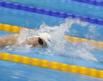 RIO DE JANEIRO, Aug. 11, 2016  Katie Ledecky of the United States of America competes during a women's 800m freestyle heat of swimming at the 2016 Rio Olympic Games in Rio de Janeiro, Brazil, on Aug. 11, 2016. Katie Ledecky smashed the Olympic record with 8 minutes 12.86 seconds.  xr) (Credit Image: © Ding Xu/Xinhua via ZUMA Wire)  FOT. ZUMAPRESS.com / NEWSPIX.PL  POLAND ONLY !!! --- Newspix.pl *** Local Caption *** www.newspix.pl  mail us: info@newspix.pl call us: 0048 022 23 22 222 --- Polish Picture Agency by Ringier Axel Springer Poland