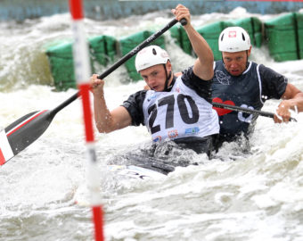 KRAKOW, 28.06.2015 PUCHAR SWIATA W SLALOMIE KAJAKOWYM, ICF CANOE SLALOM CUP, TOR KOLNA , FINALY K1W, C2M n/z. PIOTR SZCZEPANSKI, MARCIN POCHWALA (POL) FOTO: TOMASZ MARKOWSKI NEWSPIX.PL --- Newspix.pl *** Local Caption *** www.newspix.pl  mail us: info@newspix.pl call us: 0048 022 23 22 222 --- Polish Picture Agency by Ringier Axel Springer Poland
