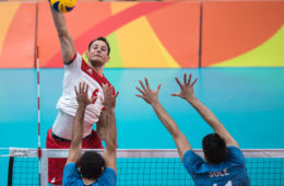 RIO DE RANEIRO 11.08.2016 IGRZYSKA OLIMPIJSKIE RIO 2016 RIO 2016 OLYMOIC GAMES PILKA SIATKOWA MEZCZYZN VOLLEYBALL POLSKA ARGENTYNA NZ BARTOSZ KUREK FOT MAREK BICZYK newspix.pl --- Newspix.pl *** Local Caption *** www.newspix.pl  mail us: info@newspix.pl call us: 0048 022 23 22 222 --- Polish Picture Agency by Ringier Axel Springer Poland