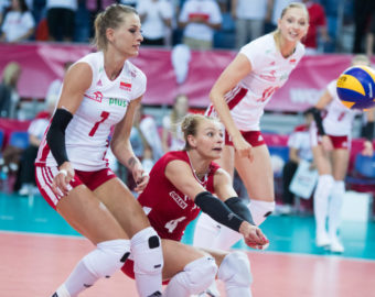 Wloclawek, Hala Mistrzow, 10.06.2016, Siatkowka kobiet, FIVB World Grand Prix, Reprezentacja Polski, Mecz Polska - Argentyna, Women Volleyball, Polish National Team, FIVB World Grand Prix, Game Polska - Argentyna  NZ sawicka agata , tomsia berenika , efimienko zuzanna ,  FOT. ROBERT HAJDUK / 058sport.pl / NEWSPIX.PL --- Newspix.pl *** Local Caption *** www.newspix.pl  mail us: info@newspix.pl call us: 0048 022 23 22 222 --- Polish Picture Agency by Ringier Axel Springer Poland