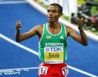18.08.2009, BERLIN, MISTRZOSTWA SWIATA W LEKKIEJ ATLETYCE, 10000 METROW, BIEG, KENENISA BEKELE (ETH), FOT. ACTION PRESS / FOTO OLIMPIK/NEWSPIX.PL --- Newspix.pl *** Local Caption *** www.newspix.pl  mail us: info@newspix.pl call us: 0048 022 23 22 222 --- Polish Picture Agency by Axel Springer Poland