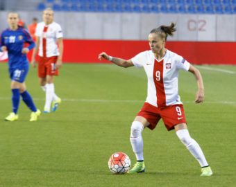 WLOCLAWEK 20.09.2016 STADION OSIR PILKA NOZNA KOBIETY  ELIMINACJE MISTRZOSTWA EUROPY W PILCE NOZNEJ KOBIET 2017 KADRA PZPN  POLSKA - MOLDAWIA OSIR STADIUM FOOTBALL WOMEN QUALIFIERS QUALIFICATION ROUND UEFA WOMEN'S EURO CHAMPIONSHIP 2017 NATIONAL TEAM POLAND - MOLDOVA  NZ. EWA PAJOR FOT. MATEUSZ BOSIACKI / 400mm.pl / NEWSPIX.PL --- Newspix.pl *** Local Caption *** www.newspix.pl  mail us: info@newspix.pl call us: 0048 022 23 22 222 --- Polish Picture Agency by Ringier Axel Springer Poland